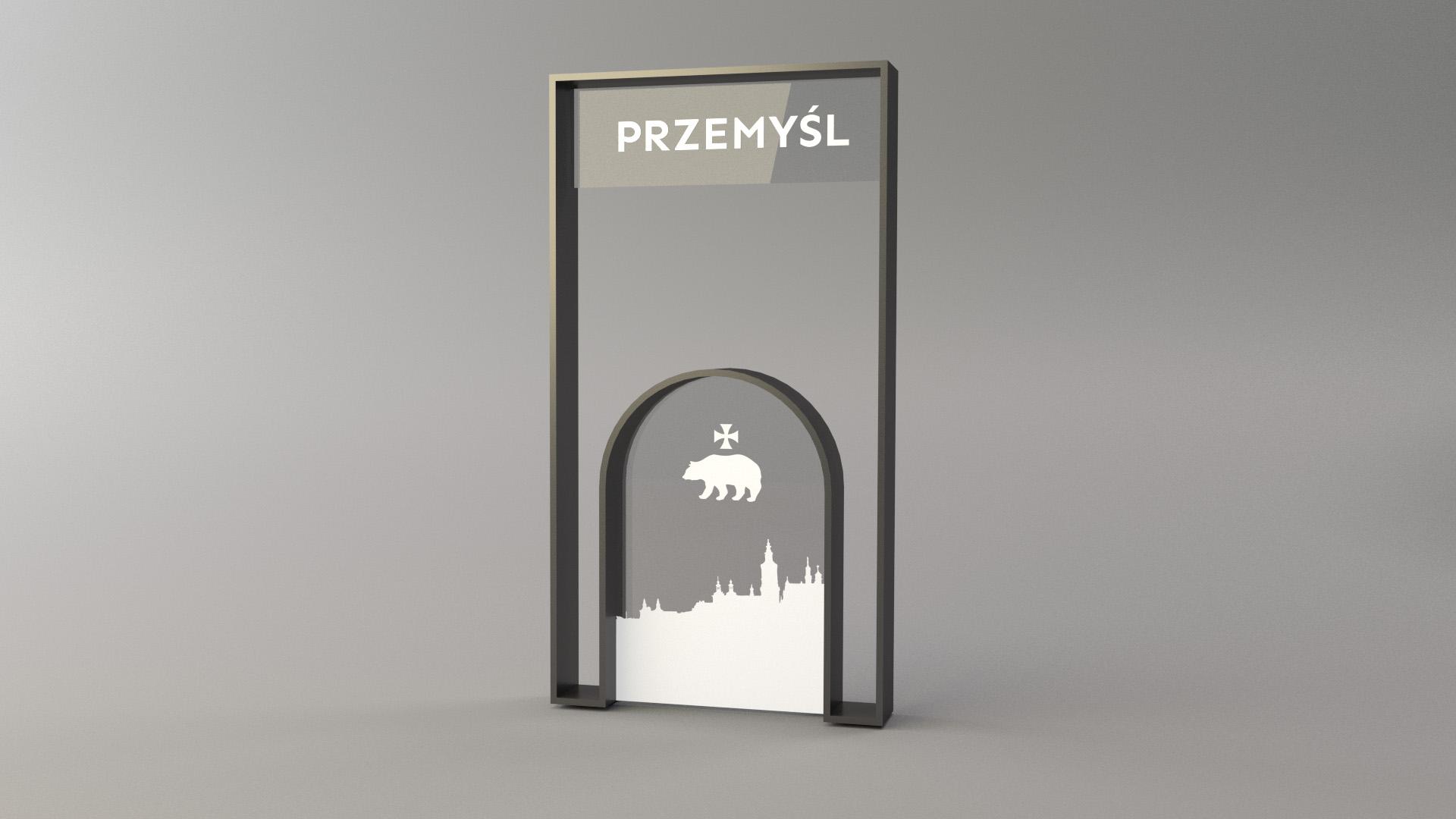 Projekt witacza miejscowości Przemyśl
